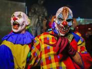Kreis Augsburg: Horror-Clowns wecken in Gersthofen schreckliche Erinnerungen