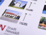 Neusäss: Bismarckturm und Schmutterdingzieren Brief