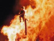 Langenneufnach: Brennende Strohpuppe als großes Spektakel?