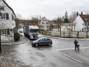 Dinkelscherben: Eine Straße für Anwohner und Betriebe