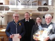 : Seit 40 Jahren an der Orgel