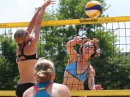Biberbach: Bald kann Beachvolleyball gespielt werden