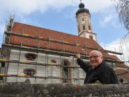Horgau: DieKirche kommt in den Käfig