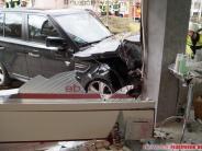 Neusäß: Auto im Schaufenster: Der Schreck sitzt bis heute