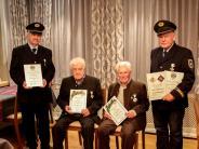 Versammlung: Veteranen ehren ihre treuen Mitglieder