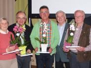 : Ehrennadeln für verdiente Mitglieder des Gartenbauvereins