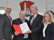 Urkunde: Eine Bürgerstiftung für Stadtbergen