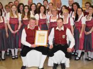 Jubiläum: Neues Ehrenmitglied für den Musikverein Rothtal