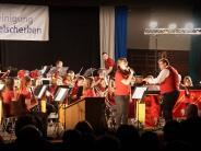 Frühjahrskonzert: Dinkelscherber Musiker entführen in fremde Welten