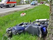 Thannhausen/Balzhausen: Motorradfahrer stirbt bei Unfall