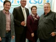 Neuwahlen: CSU setzt weiter auf Stefan Buck