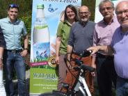 Eröffnung: Mit dem Fahrrad rund ums Schmuttertal