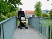 Biberbach: Bitte nur einzeln über diese Brücke gehen