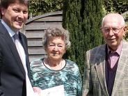 : Seit 60 Jahren verheiratet