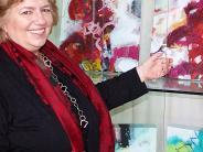 : Ursula Roll malt auch Kühe