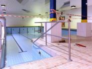 Langweid: Schwimmbad zeigt sich ab September in Weiß-Blau