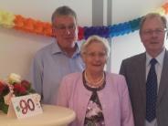 Langweid: Marta Meyer feiert 90. Geburtstag