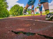 Dinkelscherben: Wenn der Sprint zum Hindernislauf wird