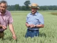 Bauern: Wasser marsch auf den Feldern