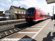 Diedorf: WiederSchmierereien am Bahnhof