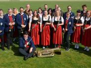 Geburtstag: Musikverein feiert Jubiläum am Dorfteich
