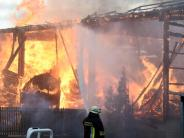 Welden: Ein Jahr nach dem Großbrand: Die neue Halle soll bald stehen