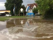 Landkreis Augsburg: Landkreis kommt bei Unwetter glimpflich davon
