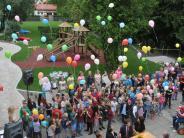 Westendorf: So kunterbunt wird der neue Schulhof gefeiert