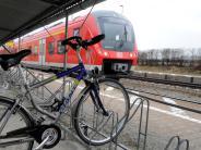 Diedorf: Mehrere Fahrräder am Bahnhof beschädigt