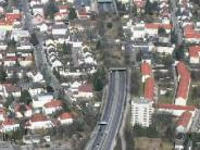 Stadtbergen: Der Innenminister macht an der B17den Deckel drauf