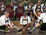 Thierhaupten: Holzhacker-Buam zum Festausklang