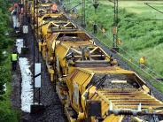 Dinkelscherben: Gleisarbeiten: Der Zug-Fahrplan ändert sich