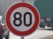 Nordendorf: Tempo 80? Verwirrung auf der B2