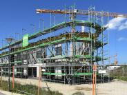 """Stadtbergen/Augsburg: Betonfassade des Post SV wird zur """"Klagemauer"""""""