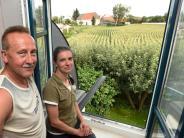 Horgau: 15 Häuser vor dem Fenster?