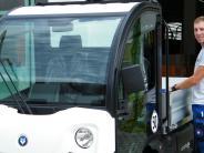 Bauhof: Elektromobil im Dreitagetest