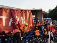 Unfall: Viel Arbeit und kein Feierabendbier