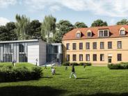 Kita: Der Kindergarten wird massiv gebaut