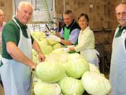 Vereinsleben: Sauerkraut ist der Renner