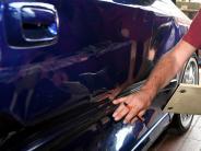 Horgauergreut: Dacia angefahren: Polizei sucht Zeugen