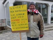 Westendorf: Der einsame Montagsdemonstrant
