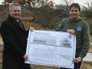 Großprojekt: Fischer bauen neues Haus am Weiher