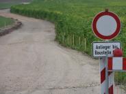 Holzheim/Münster: Deponie: Der Bau der Zufahrt hat begonnen