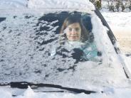 Gersthofen/Biberbach: Erste Unfälle bei Eis und Schnee
