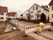 Bonstetten: Ortsdurchfahrt gesperrt