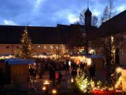 Oberschönenfeld: Markt macht Warten aufs Christkind leichter