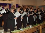 Konzert: Die Chorgemeinschaft stimmt auf Weihnachten ein