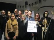 Gersthofen: Gersthofer Schüler auf den Spuren des Sensenmanns