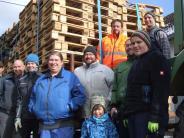 Langenneufnach: Funken machen in Langenneufnach Schluss mit Schnee und Kälte