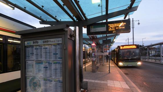 Gersthofen: Fährt die Linie 4 künftig auch bis Gersthofen?